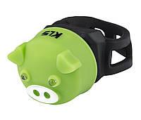 Мигалка задня KLS PIGGY Green 8585019395924, КОД: 1349448