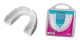 Капа OPRO Junior Snap-Fit White 002143010, КОД: 977710