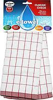 Полотенце E-cloth Classic Check Red 2300, КОД: 165052