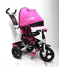 Детский трёхколёсный велосипед Crosser T-400 Trinity (розовый)