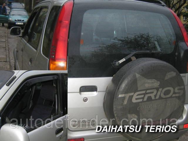 Дефлекторы окон (вставные!) ветровики Daihatsu Terios 1998-2005 2шт., HEKO, 13211