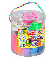 Тесто для лепки Danko Toys Master Do 18 цветов Разноцветный gabkrp68JMPX34031, КОД: 916394