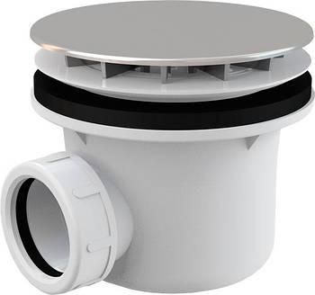 Сифон Alcaplast для душового піддону хром. (A49CR) (42887)