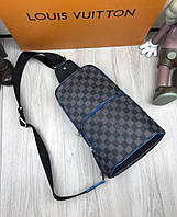 Сумка-ранец в стиле Louis Vuitton темная