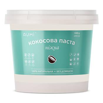 Основа для приготовления кокосового молока (кокосовая паста), 1кг, ведро, натуральная без добавок