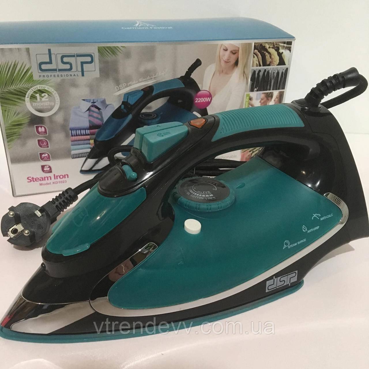 Утюг DSP 220V/2200W KD 1023 green