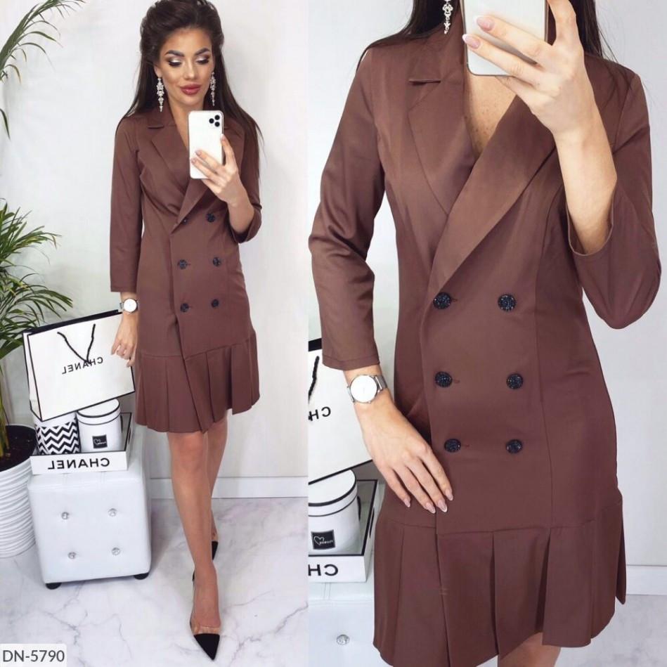 Стильна сукня з костюмки Армані