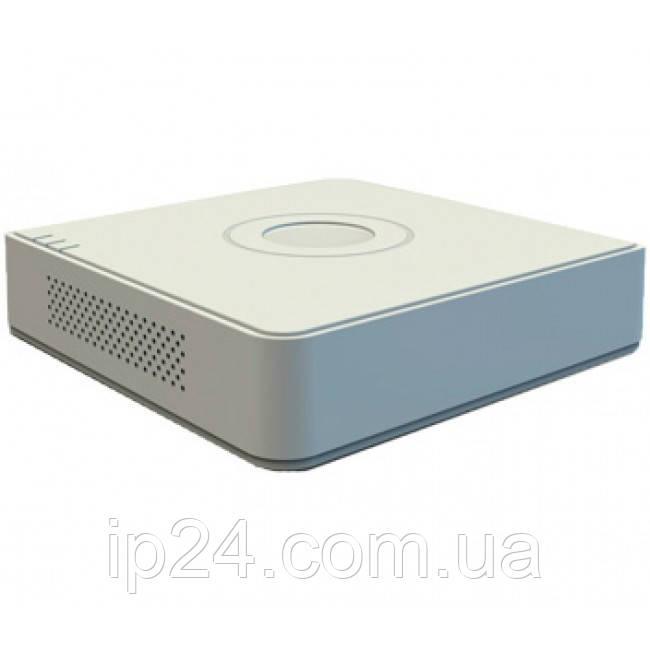 Видеорегистратор Hikvision DS-7104HUHI-K1 для системы видеонаблюдения