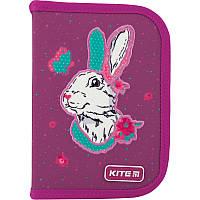 Пенал без наповнення Kite Education Bunny K20-622-5, 1 відділення, 2 відворота