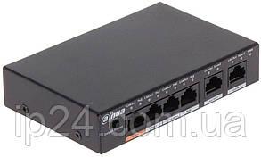POE коммутатор PFS3006-4ET-60