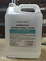 Дезинфекция рук и кожи Jerden Proff Professional Antibacterial Liquid, 5 л