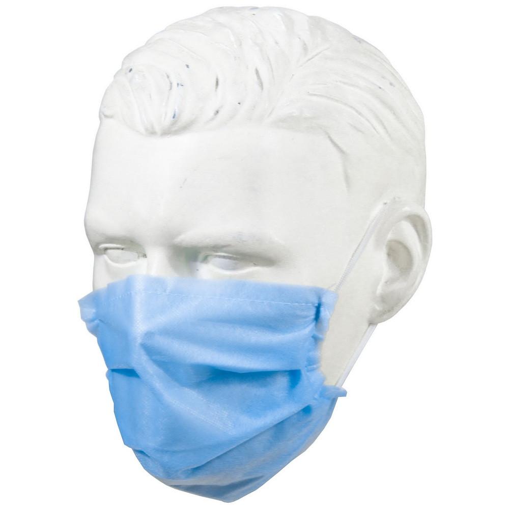 Маска защитная для лица одноразовая 4-слойная 10 штук