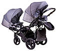Коляска 2 в 1 для двойни Tako Jumper Duo R-4 08, фото 3