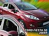 Дефлекторы окон (вставные!) ветровики Ford Fiesta 2008-2017 5D 4шт., HEKO, 15287, фото 2
