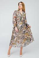 Нежное весеннее платье в размере 50,52,54,56