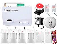 Комплект беспроводной GSM сигнализации Kerui G01 Pro для 3-комнатной квартиры GSMYYF78FDJNFD, КОД: 1579146