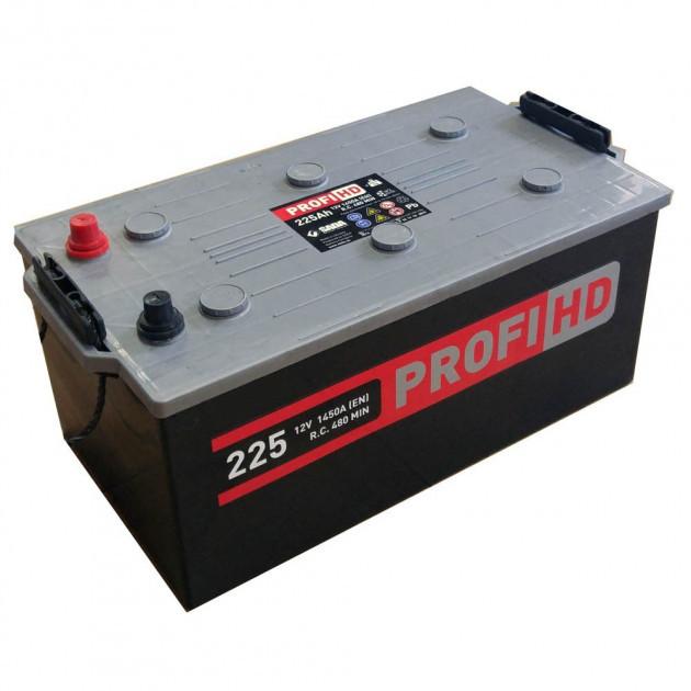 Аккумулятор 6СТ-225АЗ (3) SADA PROFI HD