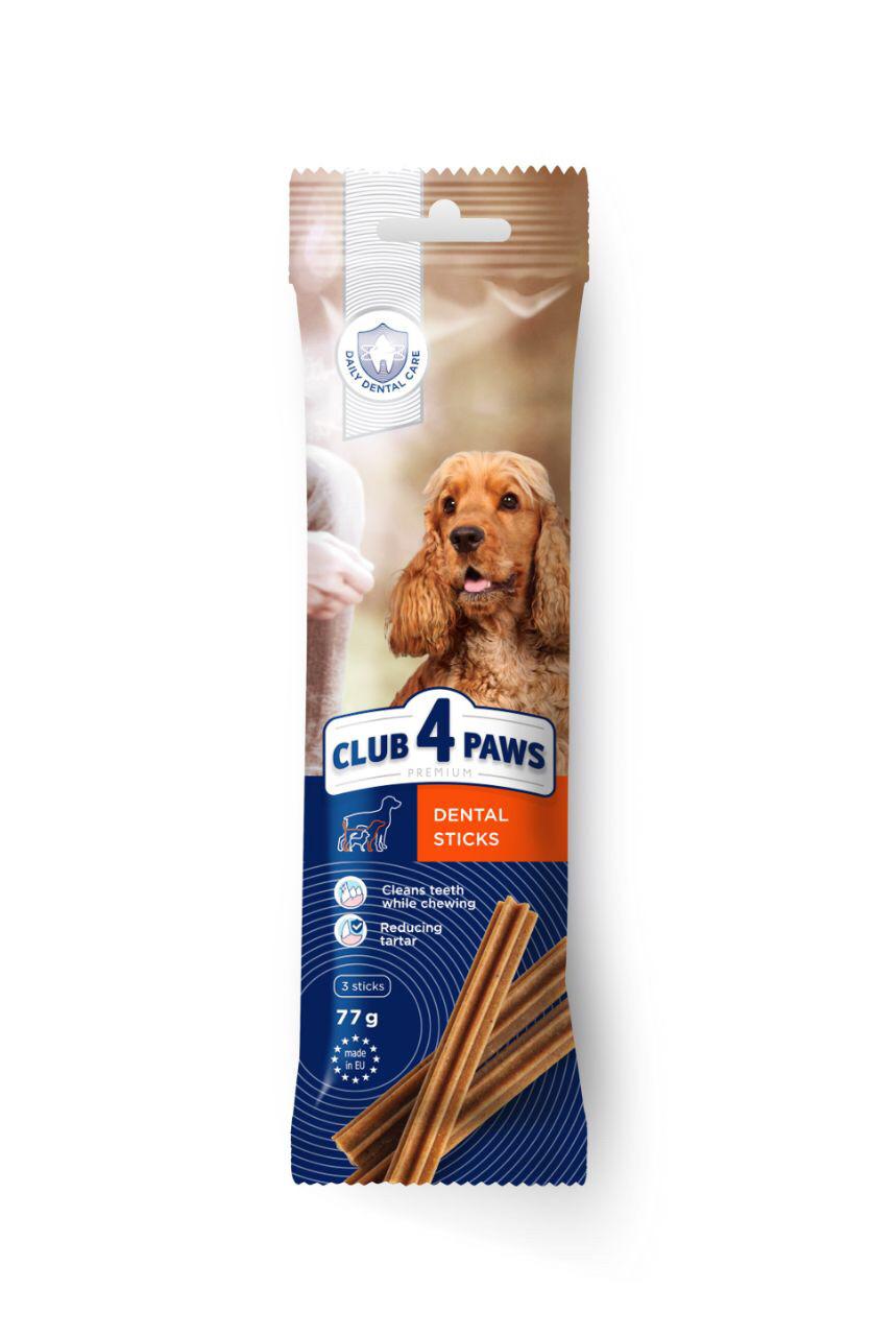 Клуб 4 лапи dental sticks для собак середніх порід 1шт