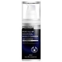 Пенка для умывания и сужения пор Pro You Professional Pore Fill Up Chorcoal Bubble Cleanser 100 м, КОД: 1462200