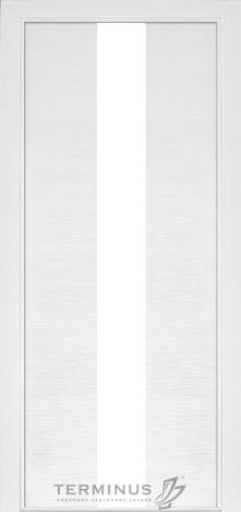 Модель 23 Ясень белый эмаль, остекленная