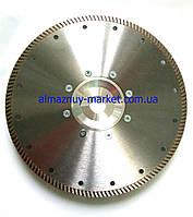 Алмазный отрезной круг 230 мм Турбо
