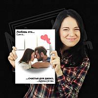 Фотокартина / Печать на холсте с галерейной натяжкой на подрамник 20х30см