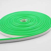 Неон светодиодный 12V зеленый PREMIUM SL-0054G SMD 2835/120 IP67 (1м) Код.59724