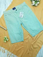 Шорты подросток Alive рост 152 джинс зеленый