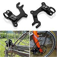 Кронштейн для установки дискового тормоза на раму велосипеда адаптер IS крепление переходник (цена 1 шт)
