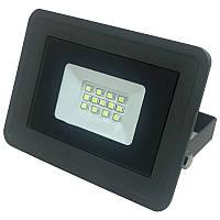 Прожектор Biom S4-SMD2835-10-Slim DEEP GRAY Led 10 Вт 220 В 6500 К 950 Лм IP 65 Черный П01078, КОД: 1456352