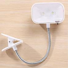 Портативний світильник на гнучкій ніжці LED