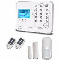 Беспроводная Wifi Gsm Pstn сигнализация V9 Te2 GFDKDL78FJNV, КОД: 1552070