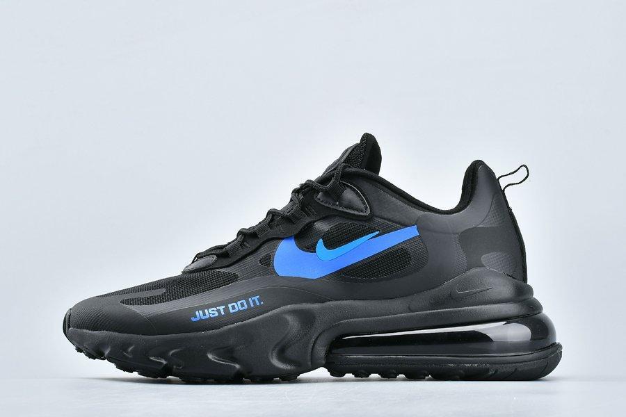 """Кроссовки Nike Air Max 270 React Just Do It """"Черные"""""""