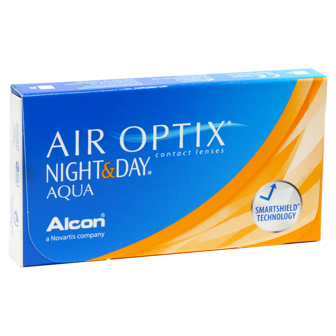 AIR OPTIX NIGHT&DAY AQUA 3шт