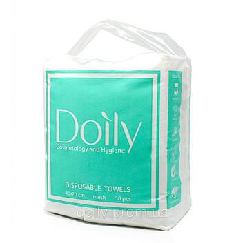 Полотенце Doily COMPACT 40/70 см 40г/м2 (50шт) сложеные в пластах