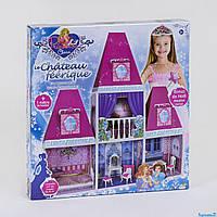 Домик для кукол 6990 с мебелью двухэтажный