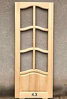 Двері міжкімнатні УММ 4.3 Сосна 2000*60/70/80/90*40