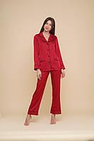 Домашний женский костюм MODENA S Красный DK150-1 S, КОД: 1598847