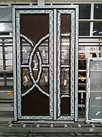 Двери входные штульповые из 5-камерного профиля WDS 1200х2100 мм