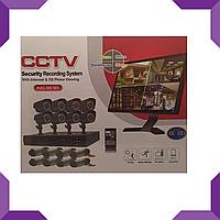 Комплект видеонаблюдения (8 камер) (без монитора) 2MP, для офиса, дома и дачи, фото 1