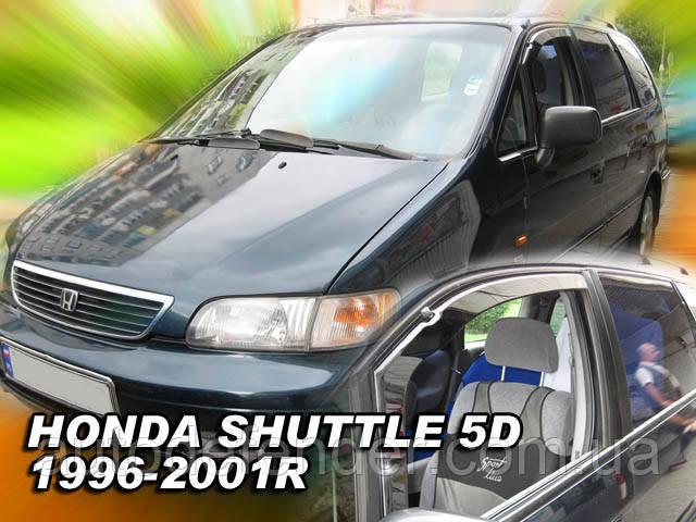 Дефлекторы окон (вставные!) ветровики Honda Shuttle 1996-2001 2шт., HEKO, 17148