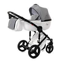 Детская коляска 2 в 1 Tako Junama Modena 05 Серая с белым 13-JM05, КОД: 287183