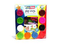 Масса для лепки Play-Toys 10 х 50 г с формочками (TOY-53992)