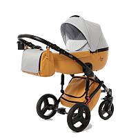 Детская коляска 2 в 1 Tako Junama Modena 04 Серая с светло-коричневым 13-JM04, КОД: 287181