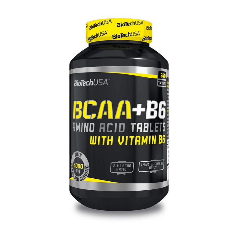 Аминокислота BCAA + B6 (380 tabs) BioTech