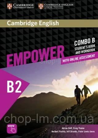 Учебник и рабочая тетрадь Cambridge English Empower B2 Upper-Intermediate Combo B Student's Book and Workbook