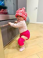 Защитный мягкий шлем для защиты головы, защита коленок и попки  малыша