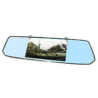 Зеркало видеорегистратор Lesko 7 Car L1007 B7 + камера заднего вида Черный 2822-8285, КОД: 1567628