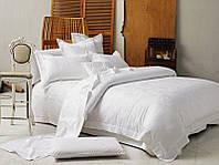 Комплект постельного белья Love You Евро Жаккард 200х220 см Белый psgLY-1-24-2, КОД: 944436