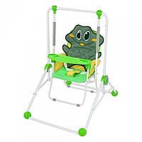 Качели-трансформер Bambi NA 02B-frog Зеленый intNA 02B-frog, КОД: 131664